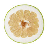 Half of sweetie citrus Stock Photography