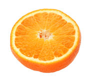 Half of  tangerine Stock Photos