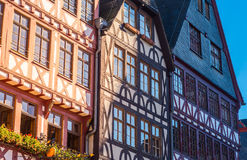 half-timber houses, Old city, Frankfurt Stock Photography