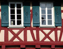 half-timbered Foto de Stock Royalty Free