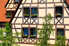 Half-timbered Architecture Royalty Free Stock Photos