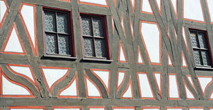 Half-timbered building Royalty Free Stock Images