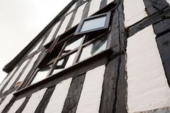 Half-timbered building in the UK royalty free stock images