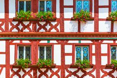 Half-timbered building Royalty Free Stock Photography