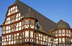 Half-timbered Castle Royalty Free Stock Image