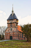 Half timbered church at Tripkau, Lower Saxony Stock Photos