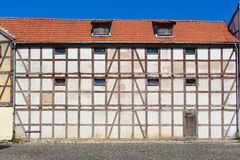 Half-timbered colorful house Stock Images