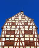 Half-timbered colorful house Royalty Free Stock Photography