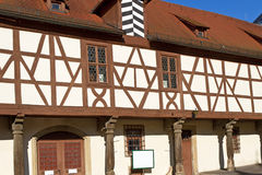 Half-timbered facade Royalty Free Stock Photography