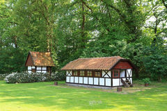 Half-timbered farmhouse in Germany 1 Stock Image
