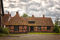 Half-timbered farmhouse Royalty Free Stock Photos