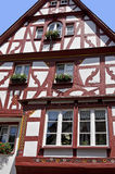 Half-timbered Häuser Stockfotografie