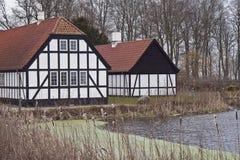 Half-Timbered Haus Lizenzfreies Stockfoto