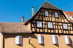 Half-timbered Haus Stockbilder