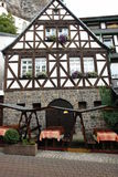 Half-timbered Haus Lizenzfreies Stockbild