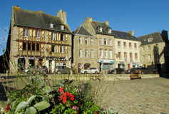 Half-timbered historical houses in France Royalty Free Stock Photography