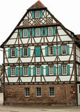 Half-timbered house. In Germany Royalty Free Stock Photography