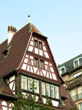 Half-timbered house royalty free stock photos