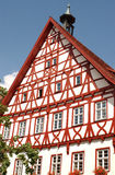 Half Timbered House. Restored half timbered house in southern Germany Stock Photos