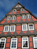 Half-timbered house. In Celle, Lower Saxony, Germany stock photography