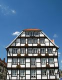 Half-timbered house. Old half-timbered house in Soest, Germany Royalty Free Stock Image