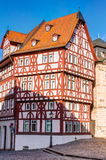 Half-timbered house in Aschaffenburg Royalty Free Stock Photos