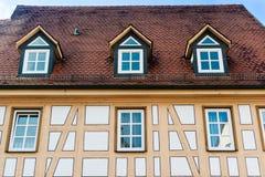 Half timbered house Stock Image