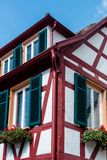 Half timbered house Royalty Free Stock Photography