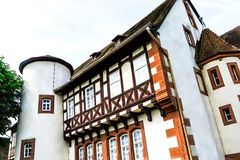 Half-timbered house - Birthplace of Brothers Grimm in Steinau, Germany Stock Photos
