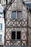 Half-timbered house in Blois Stock Photos