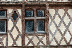 Half-timbered house in Chinon Stock Image