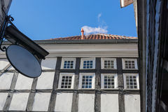 Half-timbered house facade Royalty Free Stock Photos