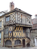 Half timbered house in france Royalty Free Stock Photo