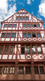 Half timbered house in Frankfurt on Main Royalty Free Stock Photo
