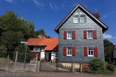Half-timbered house in Germany Stock Photography