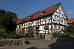 Half-timbered house in Germany Stock Photos