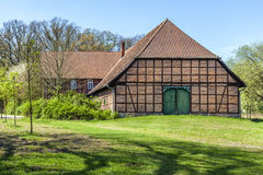 Half timbered house in Germany Royalty Free Stock Photography