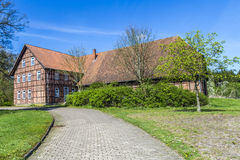 Half timbered house in Germany Royalty Free Stock Photos