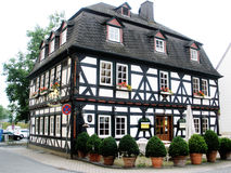 Half timbered house in Germany Stock Photos
