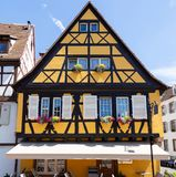 Half timbered house 2. Half timbered house in Colmar city, Alsace France Stock Images