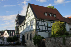 Half-timbered house Royalty Free Stock Photography
