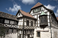 Half timbered house. Historic half timbered house in Eisenach, Germany Stock Photos