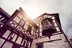 Half timbered house Royalty Free Stock Image