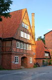 Half timbered house-I-Lueneburg Royalty Free Stock Images