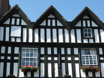 Half Timbered House (2). A half timbered house in Ledbury, Herefordshire using resined wood Royalty Free Stock Photography