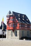 Half-timbered house in Limburg an der Lahn Royalty Free Stock Photos