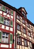 Half-timbered house in Meersburg Stock Images