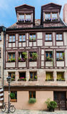 Half-timbered house of the Old Town, Nuremberg Stock Images