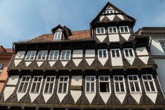 Half-timbered House Quedlinburg Germany Royalty Free Stock Image