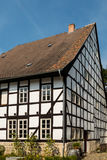 Half-timbered House in Quedlinburg Germany Royalty Free Stock Photos